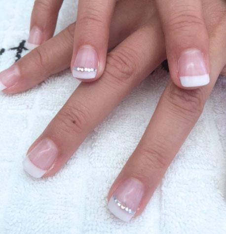 Estetian Nail & Beauty Studio - Nagels voor een aanstaande bruid