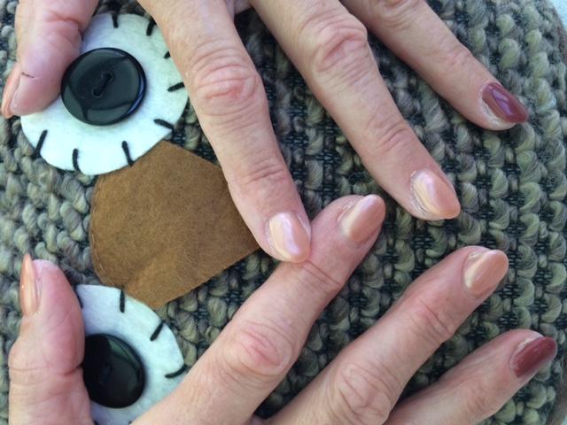 Warme herfst kleuren uil en parelmoer nails estetian estetian - Wat zijn de warme kleuren ...