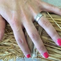 Warme herfst kleuren - Deep pink - Nails - Estetian